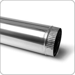 Stainless Steel Flue Pipe Length 1200mm