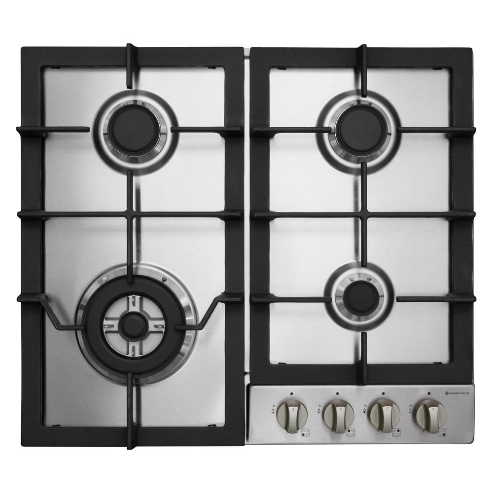 Parmco Hob 600mm Stainless Steel Gas Turfrey Kitchen