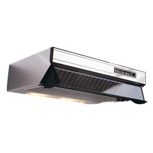 Parmco T5-6SSTWIN 600mm Glass Front Caprice Rangehood, Twin Motor