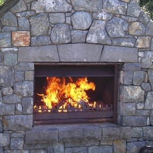 Jetmaster 850L Outdoor Alfresco Wood Fire Package Masonry