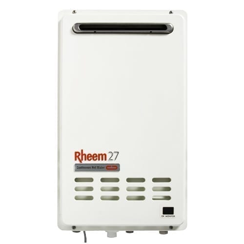 Rheem Integrity 27 Gas Continuous Flow