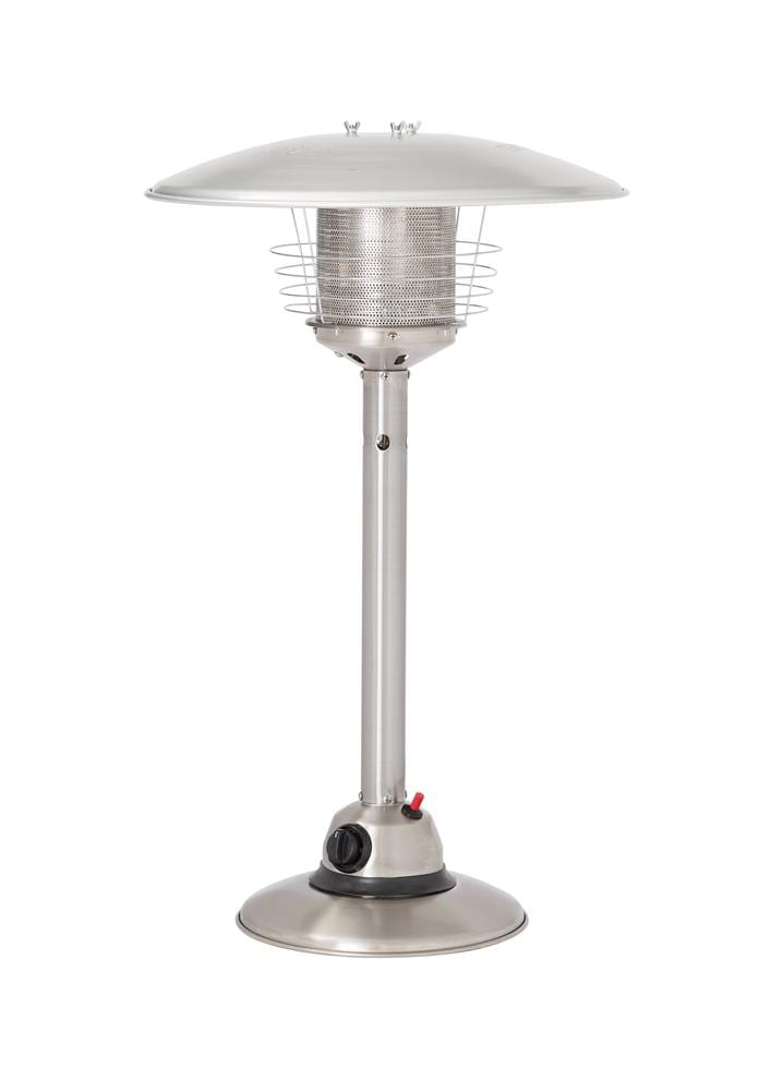 Gasmate Stainless Steel Tabletop Heater Turfrey Patio