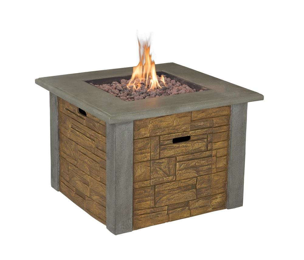 gasmate stone gas fire table turfrey outdoor heaters nz