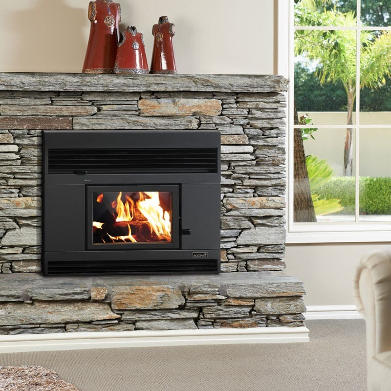Kent Rata Inbuilt Wood Fire Clean Air Approved Turfrey