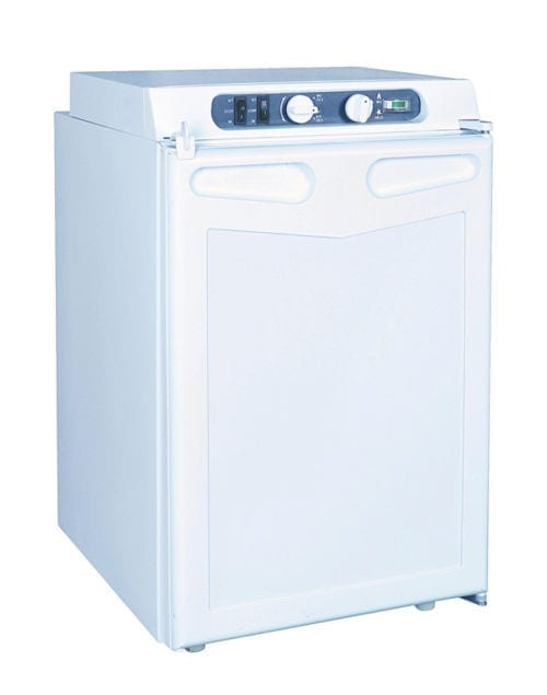 Gasmate 42 Litre 3-Way Upright Camping Fridge
