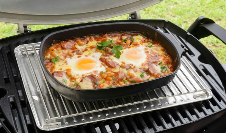 Weber Large Q Ware Frying Pan Hastings Amp Hamilton Specialist