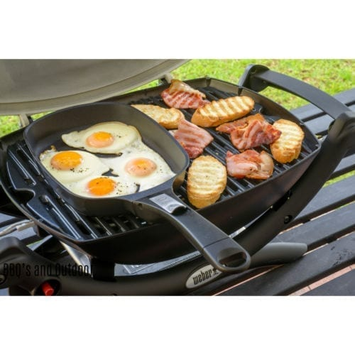 Weber Large Q Ware Frying Pan