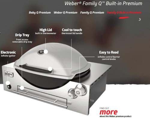 Weber Family Q Q3600 Built In