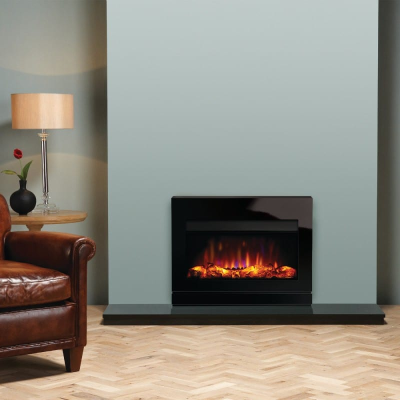 Gazco Riva 2 670 Designio 2 Glass Electric Fire Turfrey