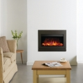 Gazco Riva 2 670 Steel Graphite Electric Fire