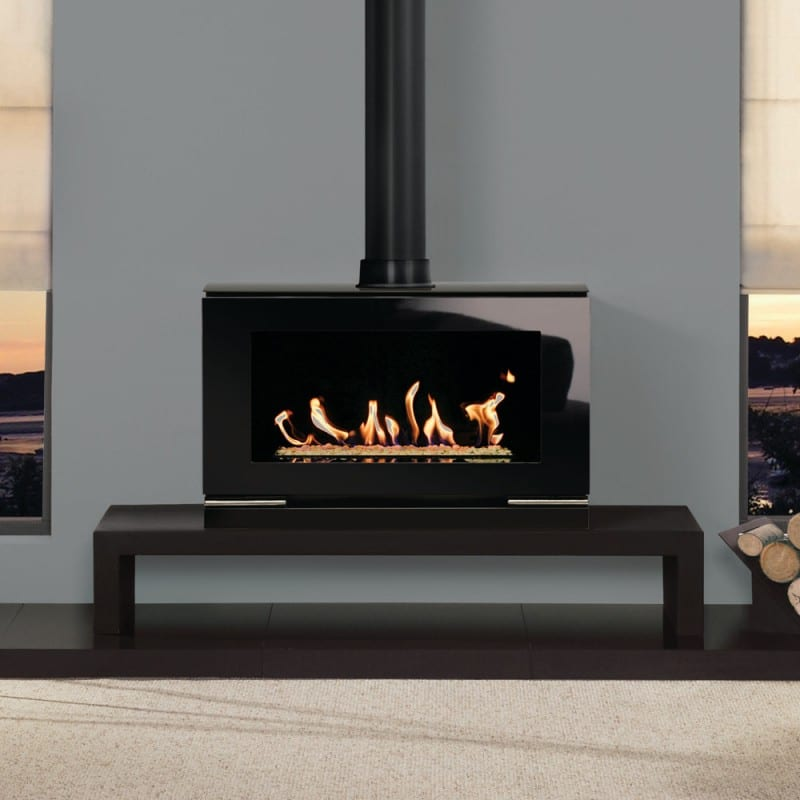 Gazco Riva Vision Gas Fire Turfrey Gas Fireplaces