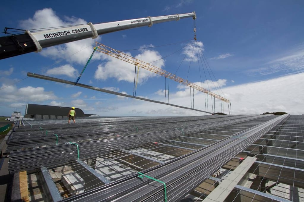Commercial Roofing North Island, Turfrey