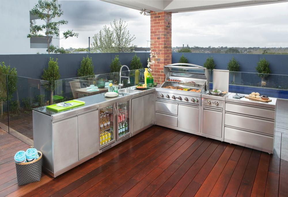 Shop outdoor kitchens turfrey plumbing gas roofing for Outdoor kitchen ideas australia