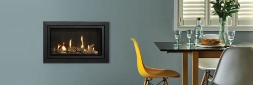 Gazco Studio Slimline Gas Fire Package