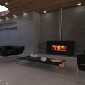 Stovax Riva Studio 2 Urban Freestanding Wood Fire Package