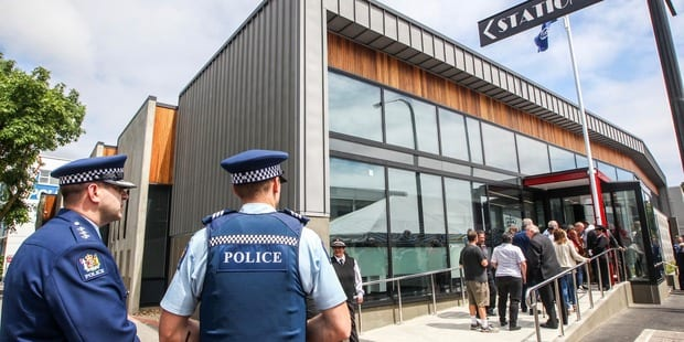 Napier Police Station - Turfrey Plumbing & Roofing Turfrey Plumbers Hastings, Hamilton, Palmerston North, Wellington, Napier, Hawkes Bay Plumbing and Roofers Hastings, Napier, Hamilton Wood Fires, Central Heating, Drainage Hamilton, Roofing, Gasfitters, Wood Fires, Gas Fires, Water Filtration, Skylights, Wastewater Treatment, Gas Hot Water