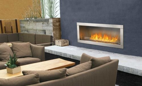 Napoleon Galaxy GS488 Outdoor Gas Fire