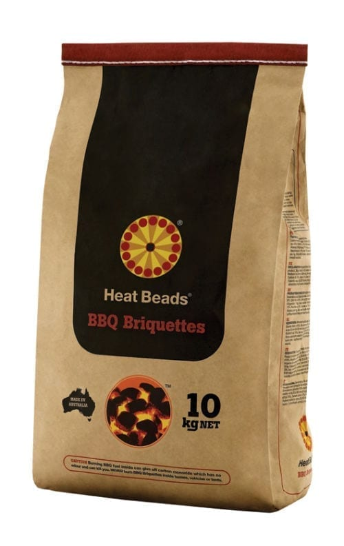 Heat Beads BBQ Fuel - Loose 10KG Bag
