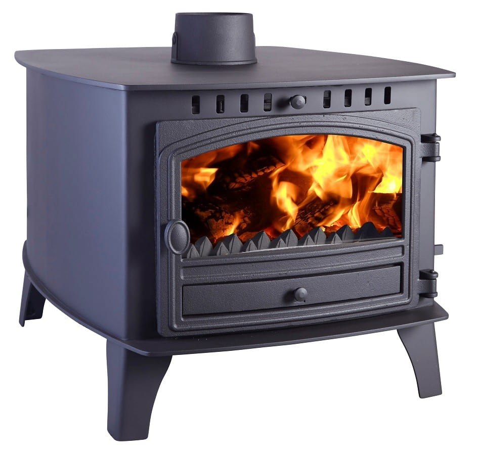Hunter Herald 14 Double Sided Stove Hunter Multi Fuel Fires