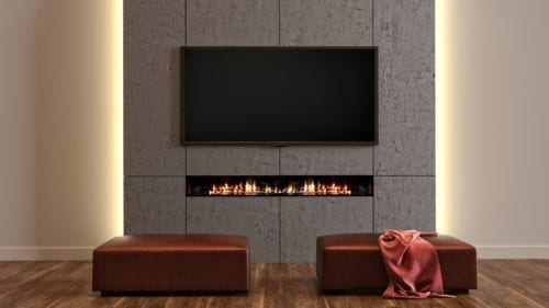 Jetmaster 1500-2000 Linear Gas Fire