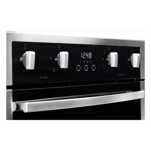 Parmco PPOV-6S-DT-2 600mm Double Oven, 8 + 4 Function, Stainless Steel
