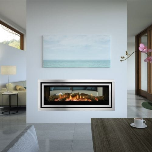 Regency Greenfire GF1500LST See-Through Gas Fireplace