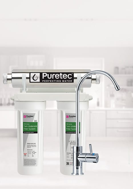 Puretec ESR2 Undersink UV Water Filter System