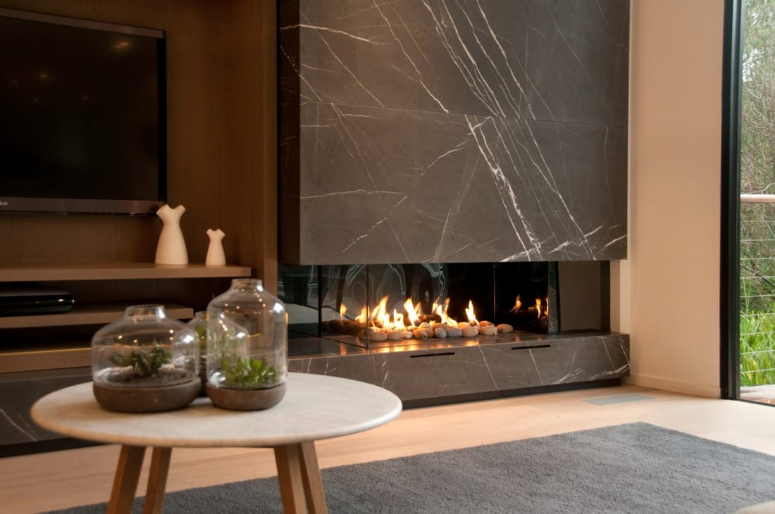 Awesome Real Flame Pure Vision Gas Fire Home Remodeling Inspirations Genioncuboardxyz