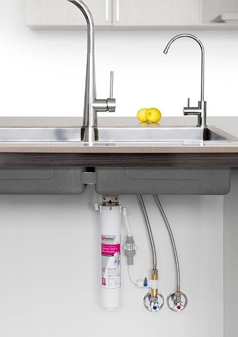 Puretec QT18 Series Quick-Twist Undersink Water Filter System