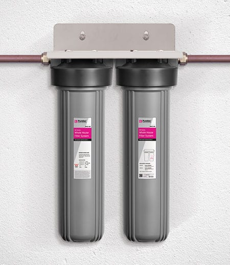 Puretec WH2-60 Whole House Dual Water Filter System