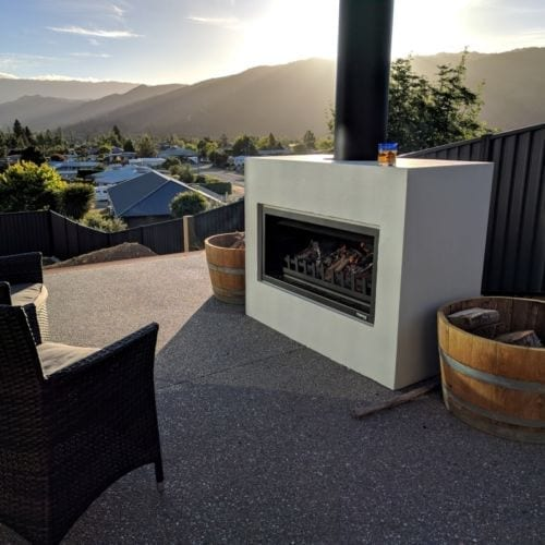 Trendz Mini Burton Outdoor Fireplace