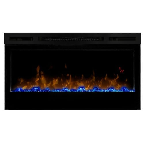 """Dimplex Prism Electric Fire 34"""" Wall Mounted"""