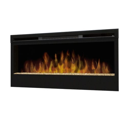 Dimplex Synergy Wall-Mounted Electric Fire with Glass Flame Bed