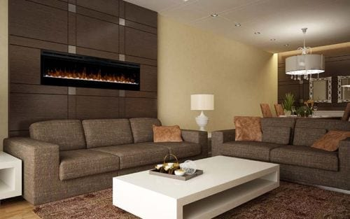 "Dimplex Prism Electric Fire 74"" Wall Mounted"