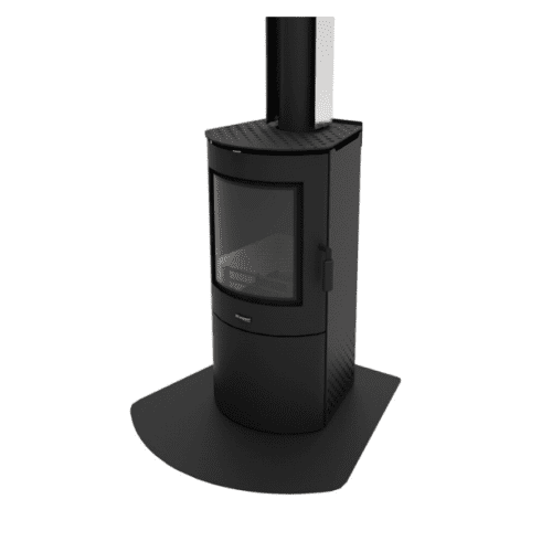 Masport Akaroa Wood Fire Steel Hearth