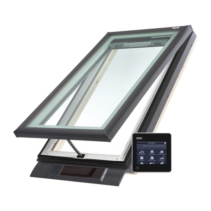 velux solar skylight low pitch roof vcs turfrey. Black Bedroom Furniture Sets. Home Design Ideas