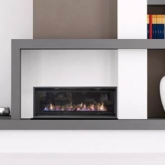 Real Flame Element 1200 Gas Fire Turfrey Heating
