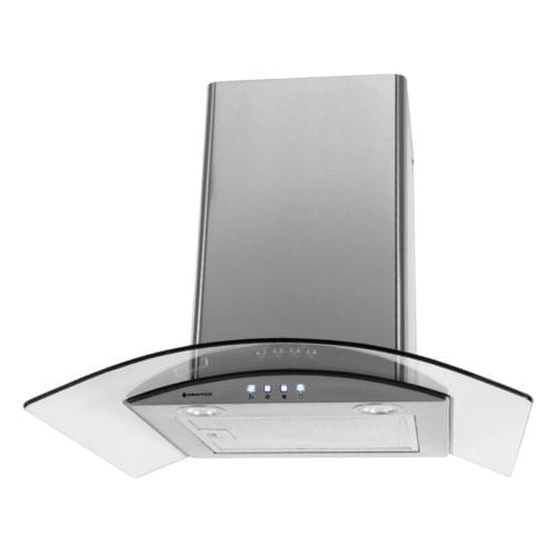 Parmco (T4-11GLA-6L) Curved Glass 600mm Canopy