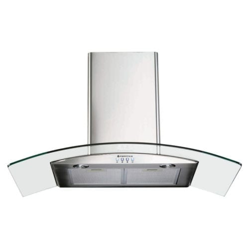 Parmco (T4-11GLA) 900mm Canopy, Curved Glass