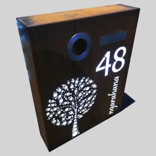 The Outside Custom-Made Letterboxes