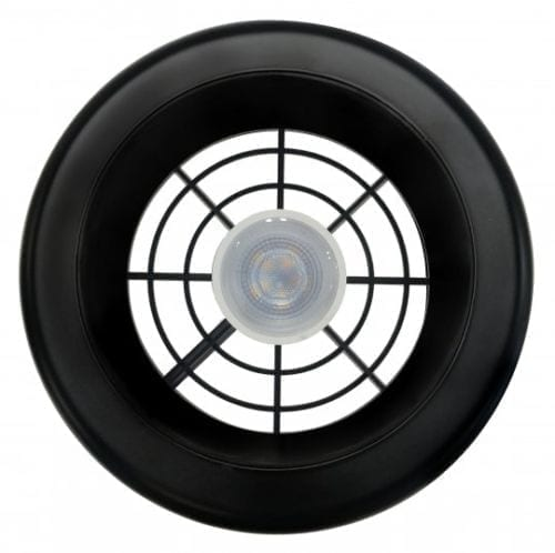 Manrose Designer Extract-A-LED Black 150mm