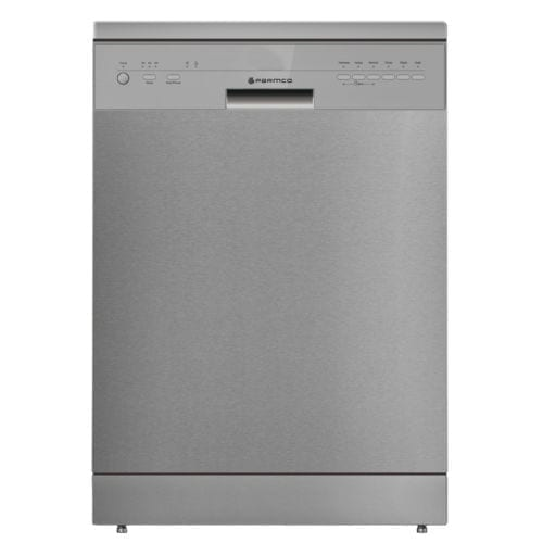 Parmco PD6-PSDF-2 60cm Freestanding Dishwasher Stainless Steel