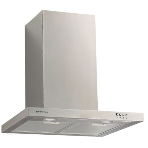 Parmco T4-12LOW-6L 60cm Low Profile Canopy Stainless Steel