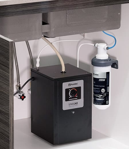 Puretec Sparq H2 Instant Hot Water Filtered Water