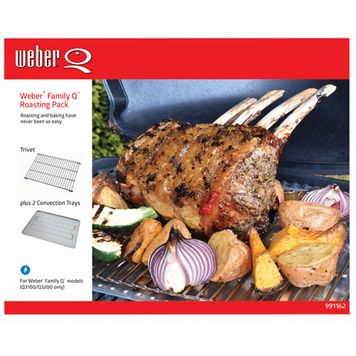Weber Family Q Roasting Pack
