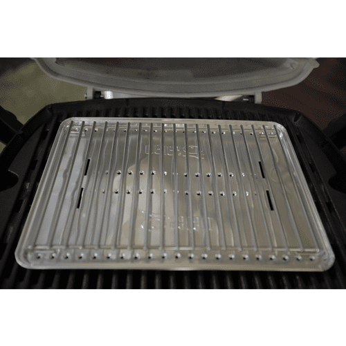 Weber Q Roasting Pack tray and trivet