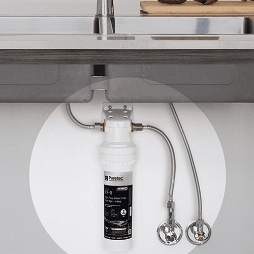 Puretec PureMix Z7 High Flow Inline Water Filter System