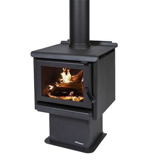 Masport R3000 Radiant Wood Burner