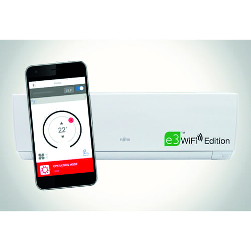 Fujitsu e3 WiFi Edition Hi-Wall Heat Pump
