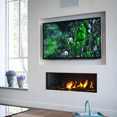 Ortal Clear 130 Gas Fire